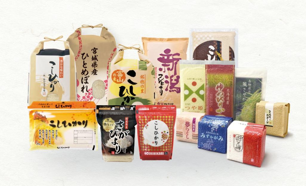 マルタカの米袋製品