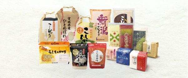 米袋製品ラインナップ