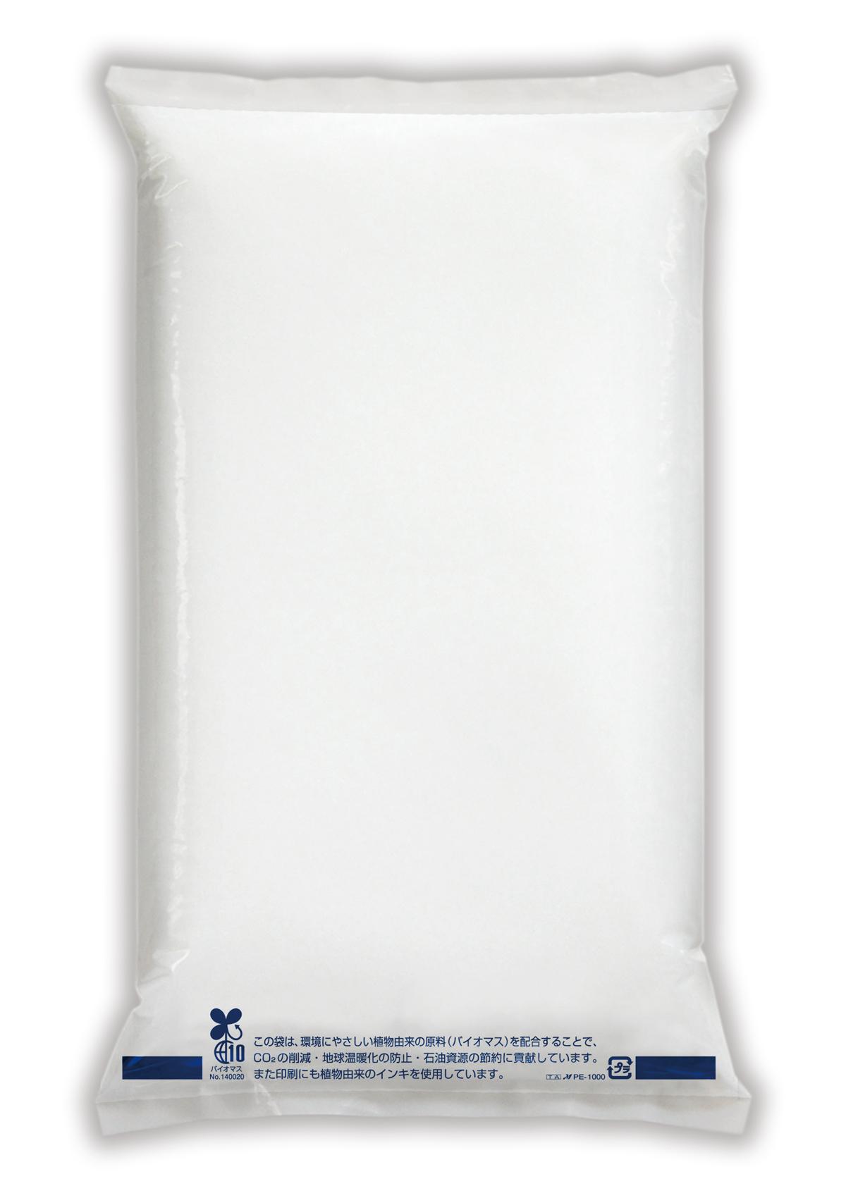 バイオマス米袋 無地 乳白