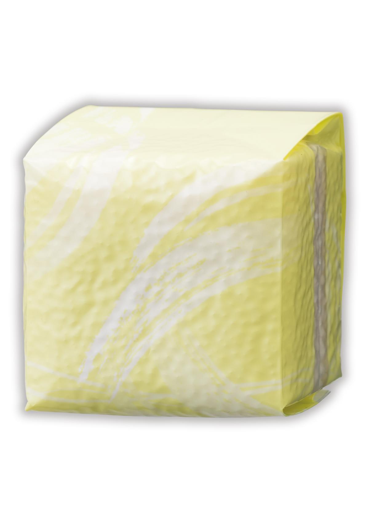真空小袋ガゼット ラミ 黄